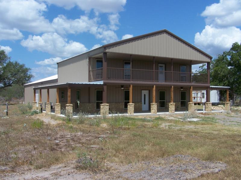 Steel frame homes w limestone exterior more 10 hq for View floor plans for metal homes