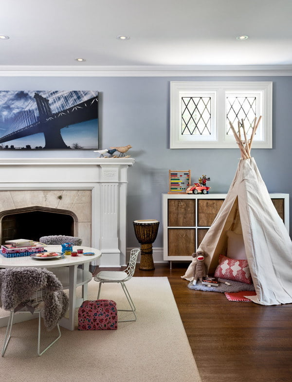 use-a-teepee-for-private-play-space-when-there-is-none
