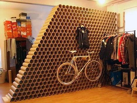 cardboard-tube-wall