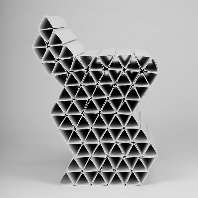 chair-recycled-paper
