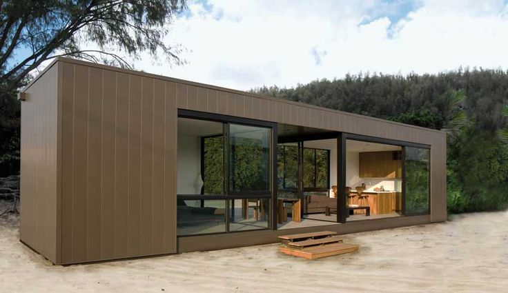 Eco-friendly Houses Made from Shipping Containers