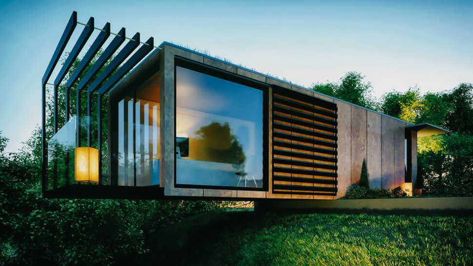 Modern Houses Made from Shipping Containers