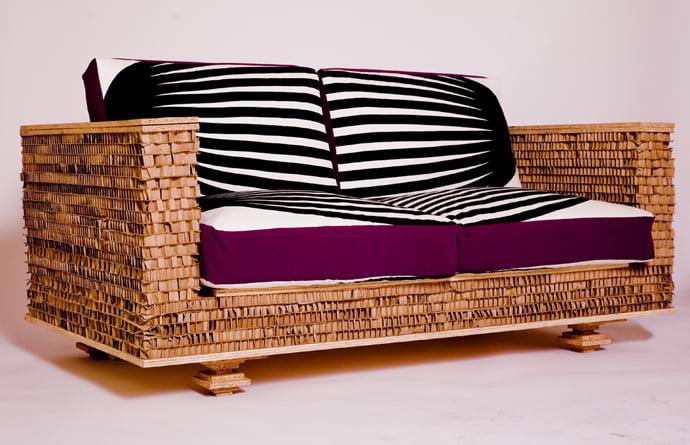 recycled-furniture-from-cardboard