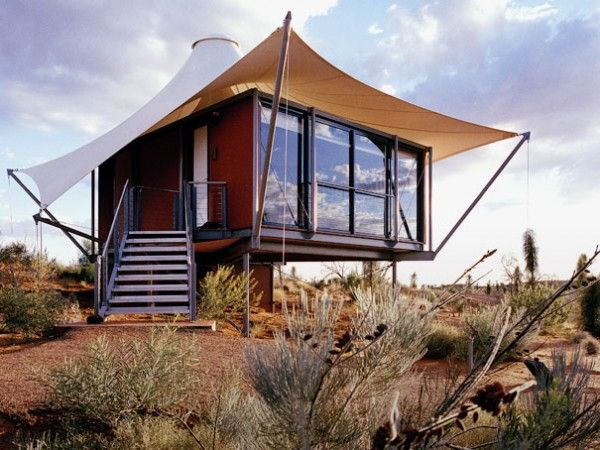 Metal Home With Tent