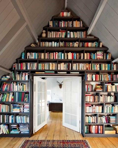 library-attic