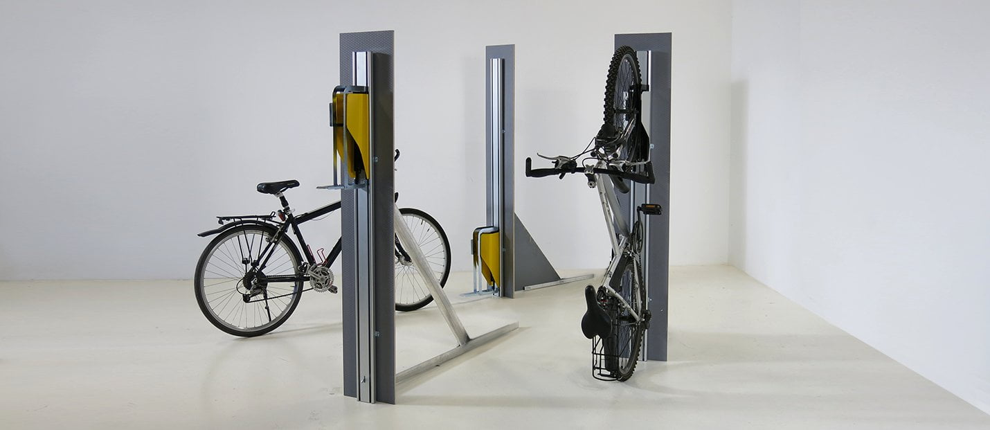 VERTICAL BIKE-PARKING SYSTEM