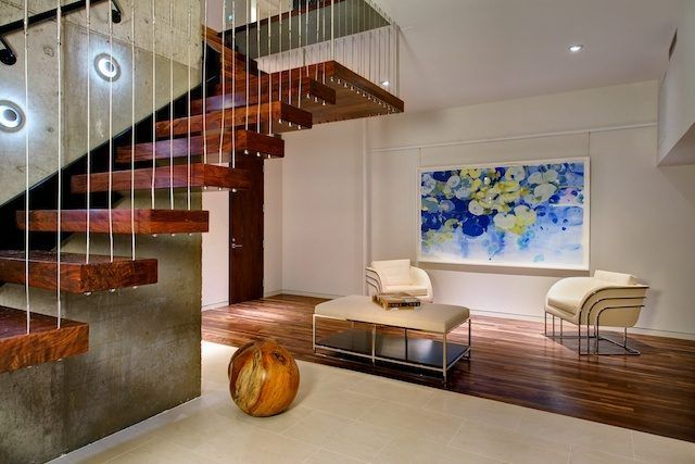 Modern interior in The Arc House by Maziar Behrooz