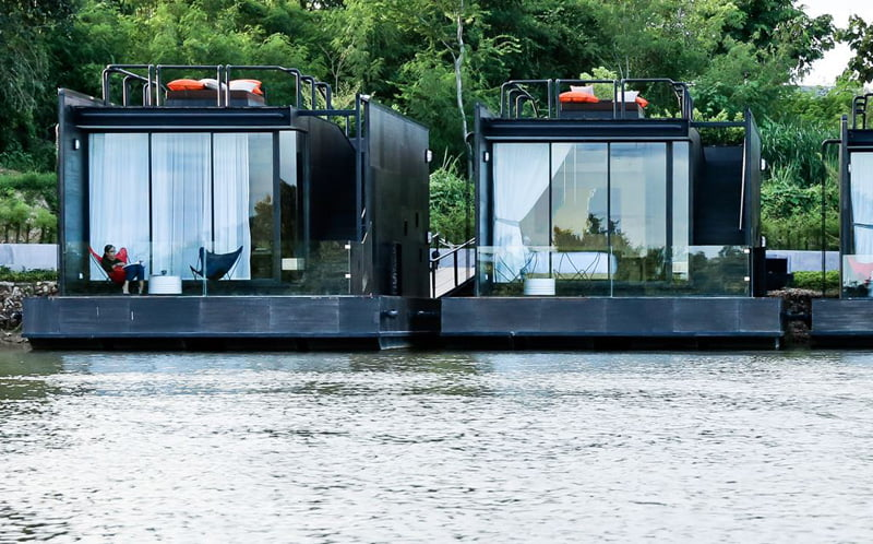 Stunning Floating House Designs (42 HQ Pictures) | Metal Building Homes