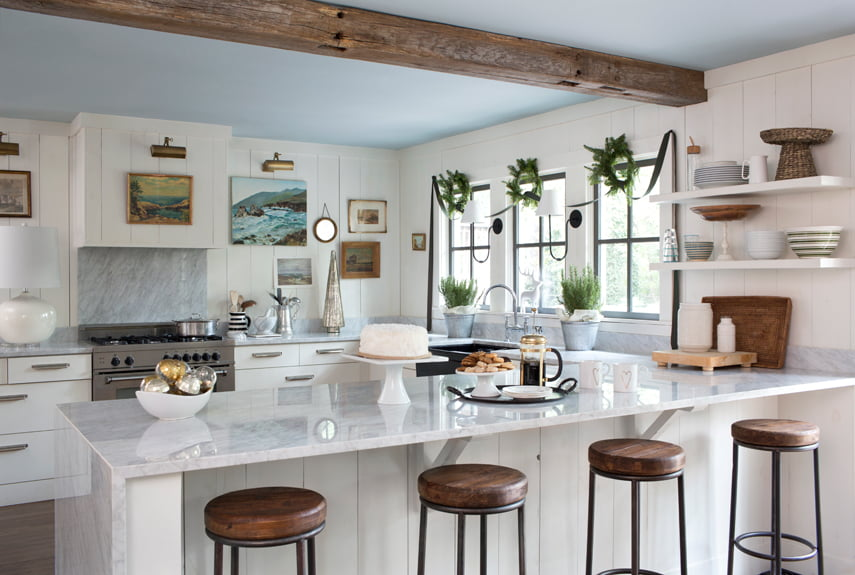 37 Stylish Kitchen Designs For Your Barn Home | Metal Building Homes
