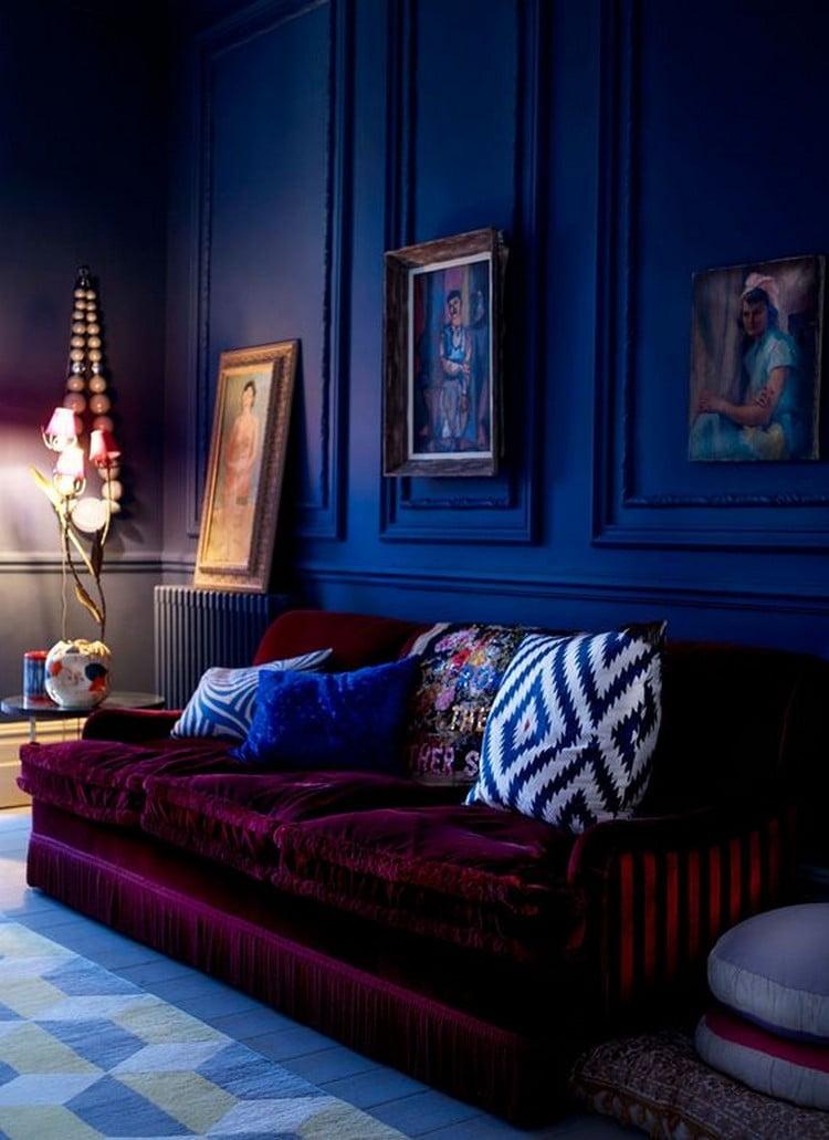 deep colors interior