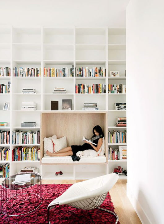 Interior Decor Trends for 2017: reading-theraphy