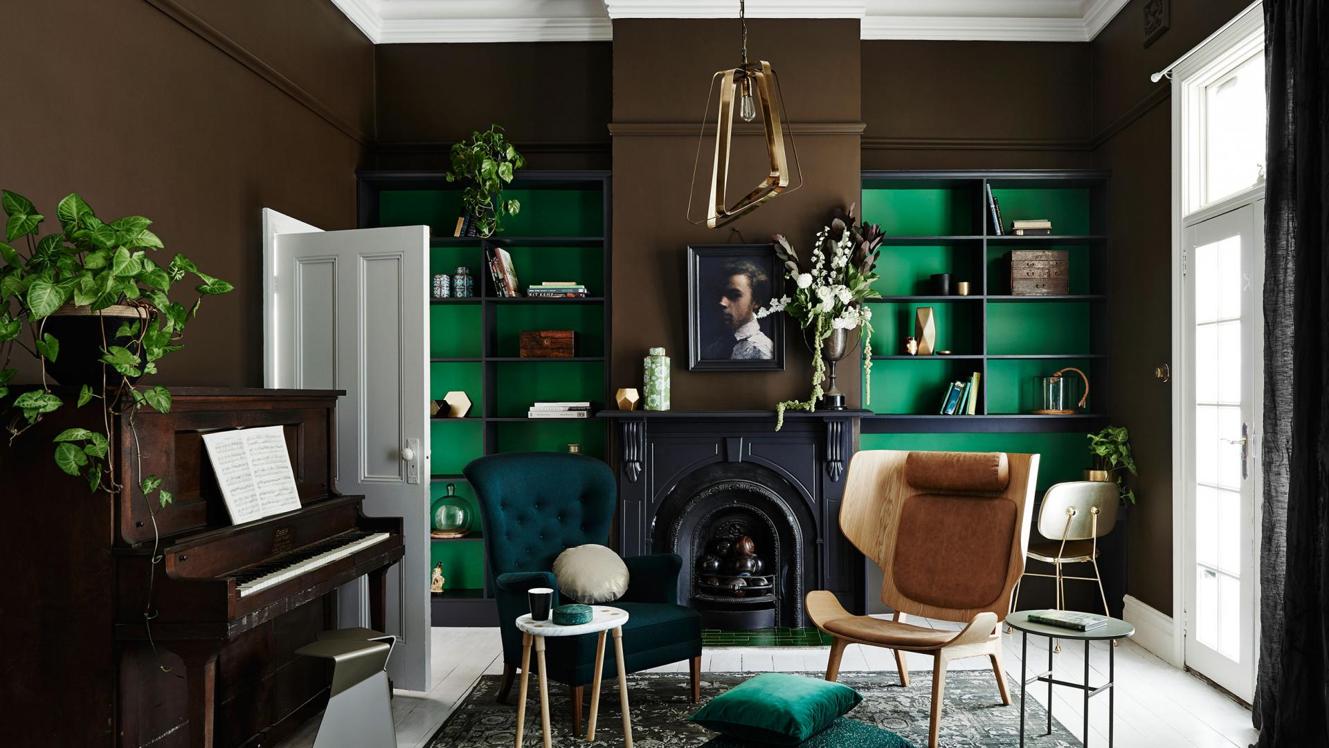 Interior Decor Trends for 2017: deep colors