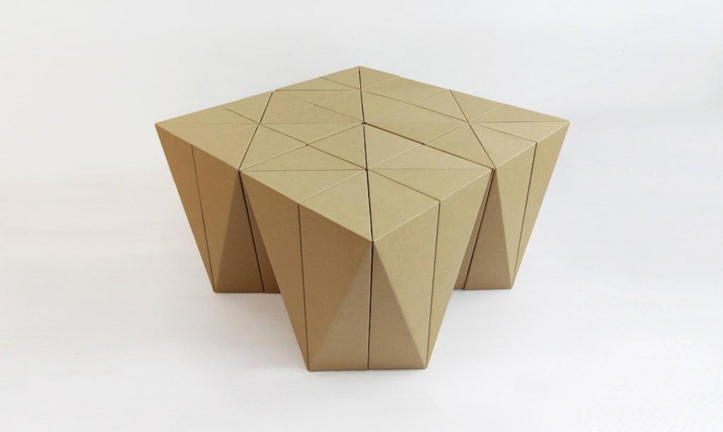table-cardboard