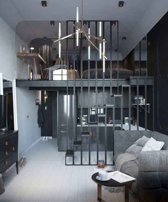 Dark Touches For Small Spaces