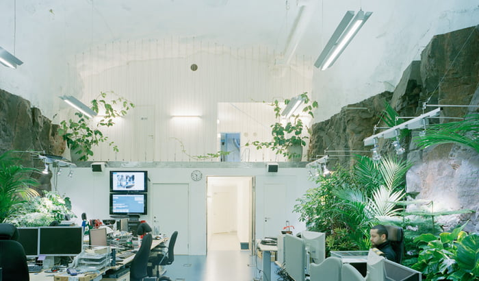 Offices Tucked Into Historical Buildings
