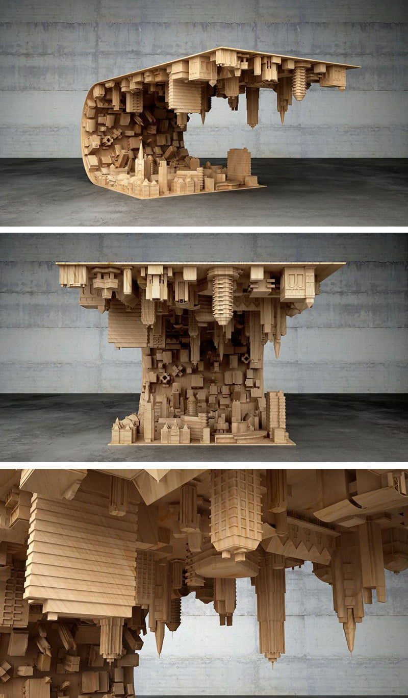 Amazing 3D Printed Table