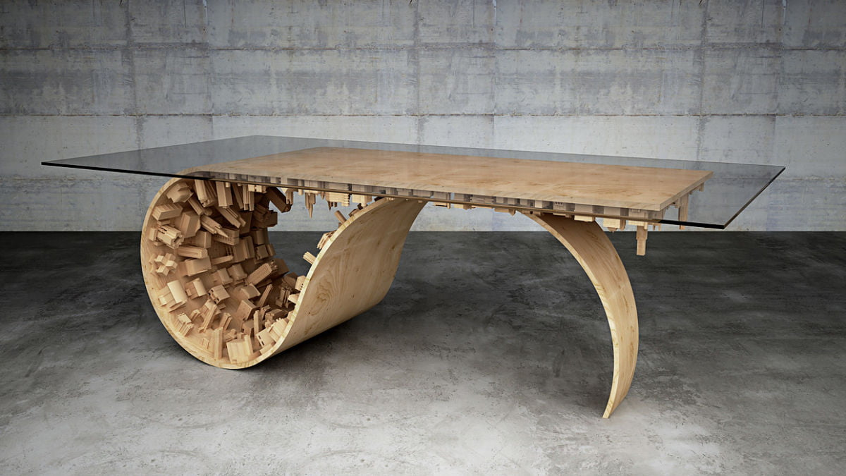 3d table print