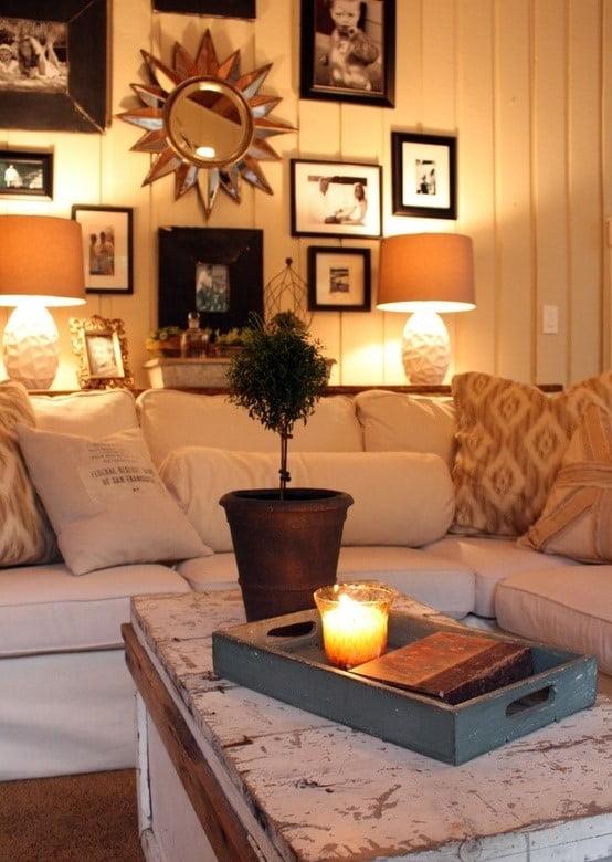 Cozy lighting