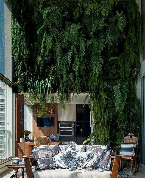 Vertical Living Green Wall