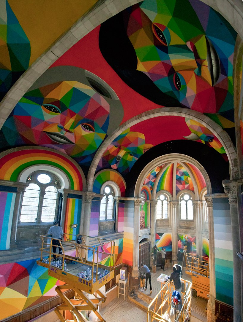 okuda-san-miguel-paints-colorful-mural-within-converted-churchs-indoor-skate-park-designboom-14