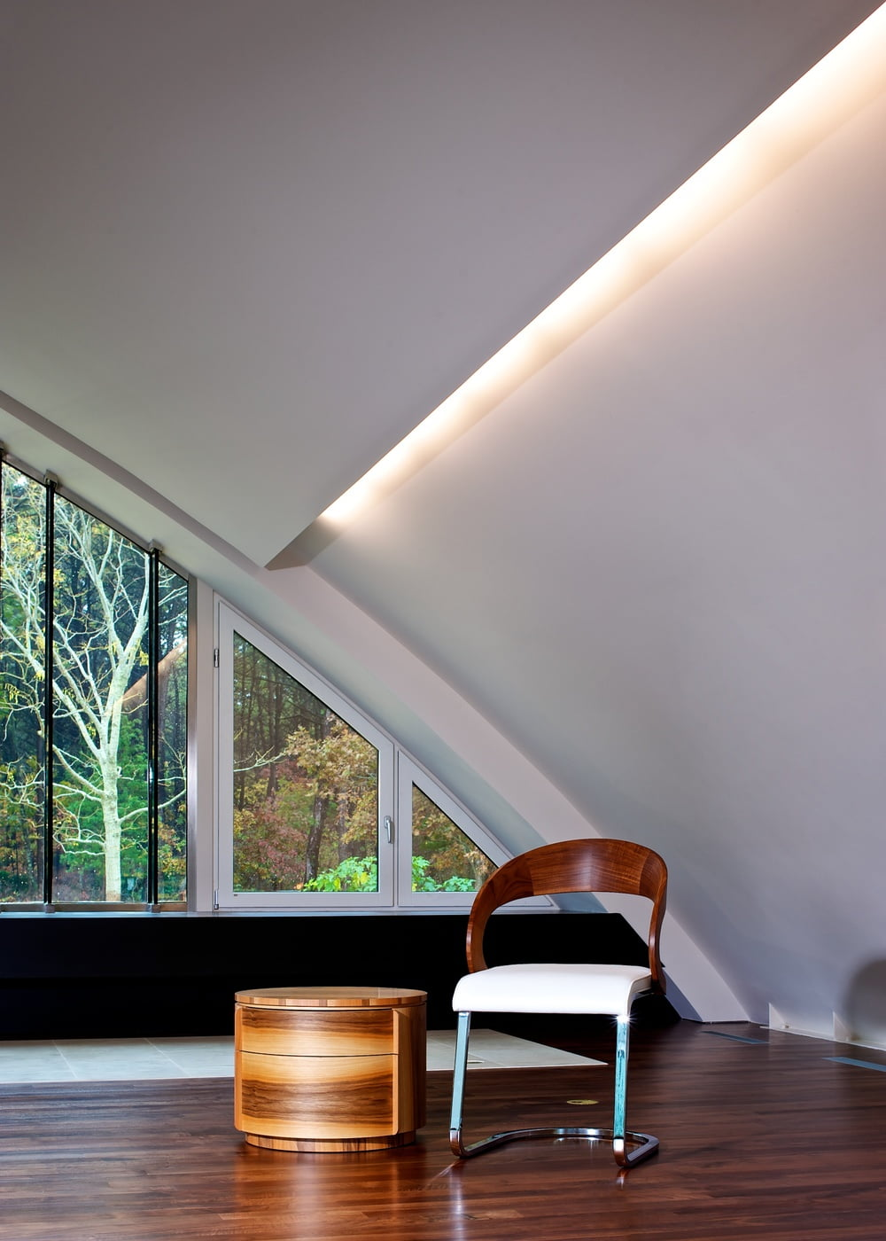 The Arc House by Maziar Behrooz interior