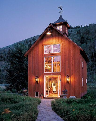 Multi-functional barn house