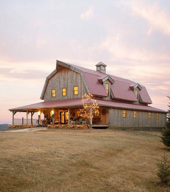 Metal building homes - barn houses