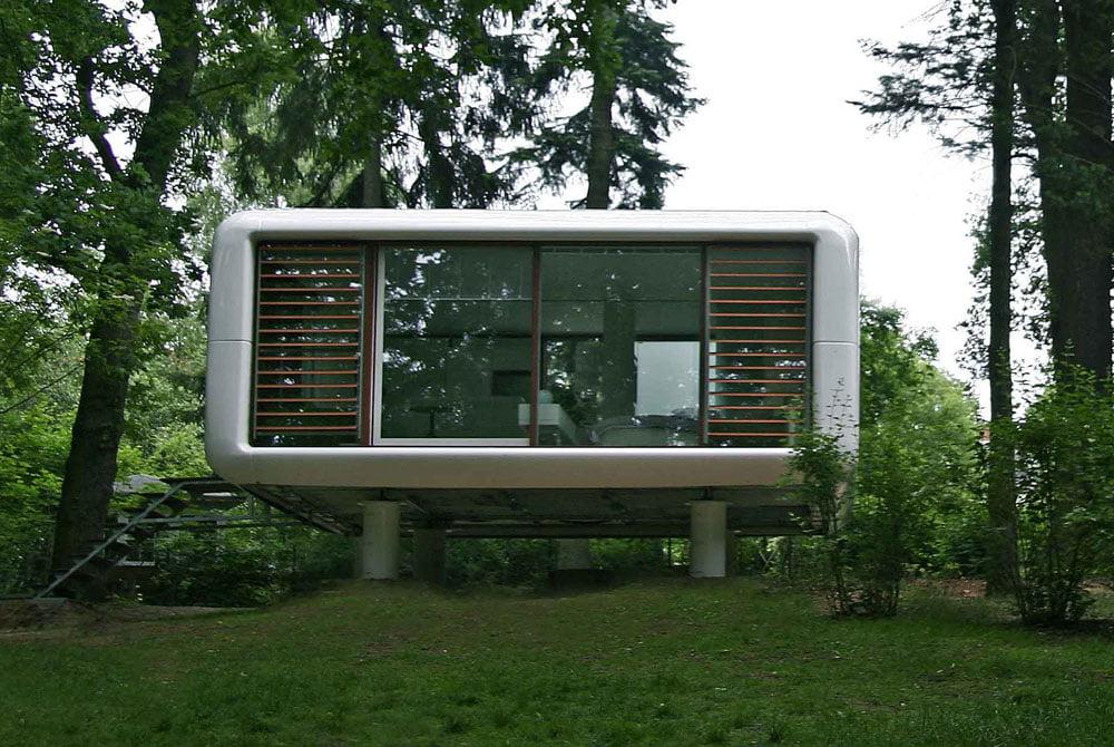 Tiny Prefab LoftCube house