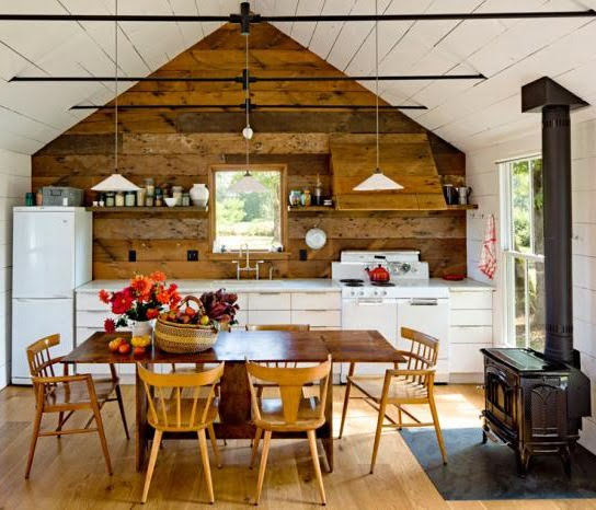 creative church ideas attic - 37 Stylish Kitchen Designs For Your Barn Home